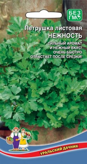 Петрушка листовая Нежность (Марс) СЕЛЕКЦИЯ ВНИИССОК (раннеспелая,очень урожайная и быстро нарастающаяся после срезки,морозоустойчива,неприхотлива)