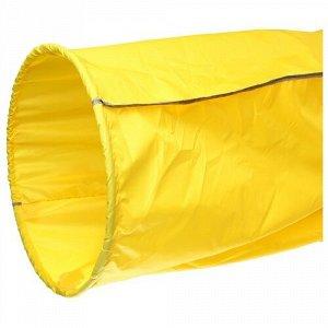 Тоннель для эстафет Усиленный OXFORD №1 L=3.5 м. цв. желтый