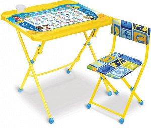 "Набор мебели ""Познайка"" (стол+ мягк.стул) тм NIKA"