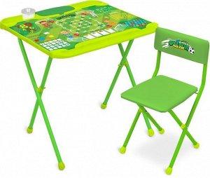 "Набор мебели ""Футбол"" (стол+ мягк. моющ. стул) тм NIKA"