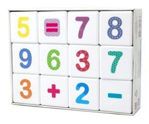 "Кубики 12 шт. ""Школа дошколят.Веселая арифметика"""