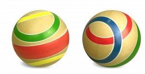"Мяч  д. 150 мм. ЭКО ""Дорожки"" ручное окрашивание"