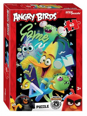 Пазлы 60 Angry Birds