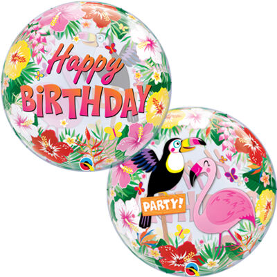 №156 =Территория праздника -организуем праздник сами.Шарики — Тропический рай. Фламинго.Лама — Праздники