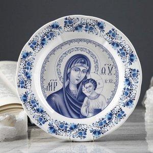 """Тарелка  """"Богородица"""" 17.5 см"""