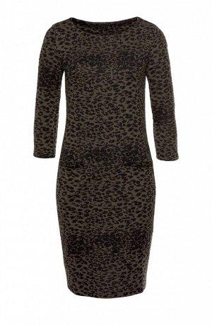 Платье, леопардовое