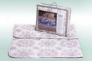 """Одеяло """"Лен"""" 100% хлопок 200г/м2 чемодан с наполнителем """"лен"""""""