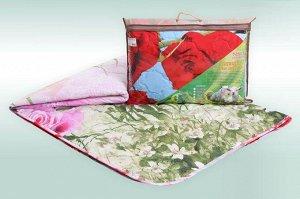 """Одеяло """"Овечья шерсть 3Д"""" микросатин 150г/м2 чемодан (размер: 200*215)"""