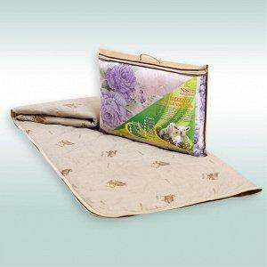 """Одеяло """"Овечья шерсть"""" пэ 150г/м2 чемодан (размер: 110*140)"""
