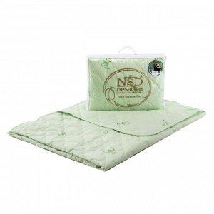 """Одеяло """"Престиж-Бамбук""""(глосс-сатин;бамбуковое волокно,300 г/кв.м.), 110/140"""