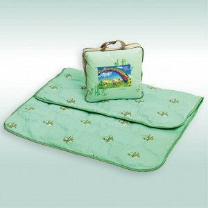 "Одеяло ""Бамбук Soft"" микрофибра 300г/м2 чемодан (размер: 110*140)"