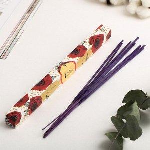 "Ароматические палочки ""Бутоны"", 8 шт., аромат красная роза"