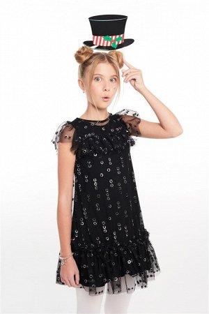 Платье детское для девочек Blush черный