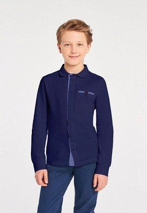Сорочка  для мальчиков Arn темно-синий