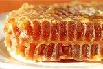 Мёд в сотах, ПЭТ квадратная банка 300г (2021г)
