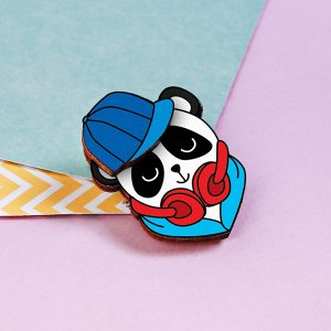 Значок «Mc. Panda». 8 х 12 см
