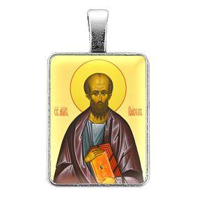 ALE328 Нательная иконка Святой апостол Павел
