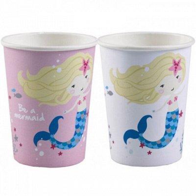 ❗❗Праздник на ура.❗❗Елочные украшения. — Одноразовые бумажные и пластиковые стаканы. — Аксессуары для детских праздников