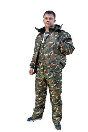 Костюм РАСПРОДАЖА!!! Ликвидация последних размеров!  КМФ зелёный, лес, цифра зелёная.Ткань (материал)Оксфорд Состав100% полиэстер ПодкладкаШелк УтеплительСинтепон 2х150 г/м2. зимняя куртка + полукомби