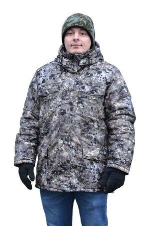 Куртка Куртка прямая, застежка на молнии с ветрозащитным клапаном, с кулисой, с пристегивающимся на молнию капюшоном. Ткань (материал)алова Состав100 % п/э Подкладкафлис + искусственный шелк Утеплител