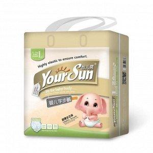 YourSun подгузники-трусики ультратонкие L (10-14 кг), 26 шт