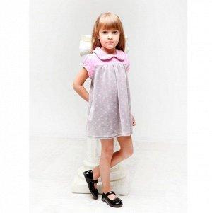 Платье велюр 281В для девочки