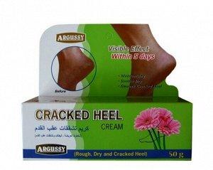 Крем против трещин и натоптышей на ступнях  с маслом Ши и цветочным экстрактом Argussy Cracked Heel Cream