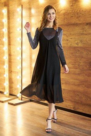 Платье Платье Фантазия Мод 3586  Рост: 164 см.  Новогоднее платье - это больше, чем просто вечернее платье - это яркий салют новым надеждам и новой жизни. Поэтому оно должно быть эффектным, романтичн