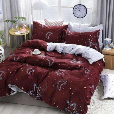 СВК текстиль для спальни. Бюджетно — КПБ Candie's Двухсторонний — Постельное белье