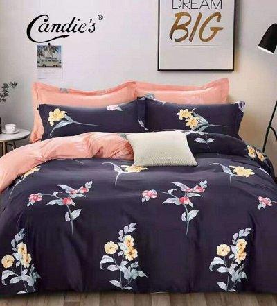 СВК текстиль для спальни. Бюджетно — КПБ Candie's — Постельное белье