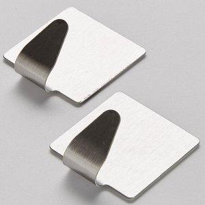 Набор из 2 самоклеящихся крючков на блистере ТД10-002