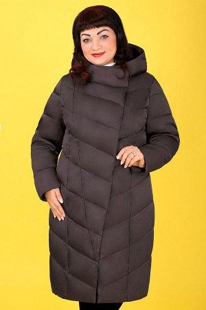 Коричневый Примечание:замеры длин соответствуют размеру 54 Длина пальто:103 см Длина рукава:67 см Подкладка:есть, синтепон Застежка:молния спереди, кнопки, магнитная кнопка Карманы:есть, два функ