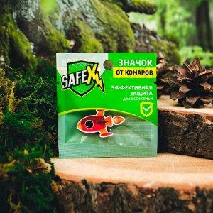 Значок на одежду антимоскитный SAFEX, №16 1 шт.