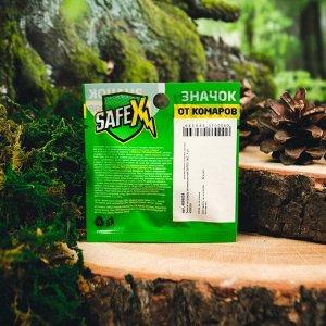 Значок на одежду антимоскитный SAFEX, №2, 1 шт.