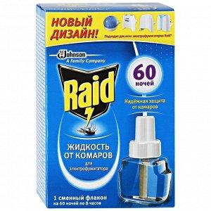 Жидкость для фумигатора от комаров Raid, на 60 ночей