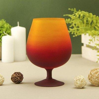 Уютный Интерьер, Ключницы, Подставки, Подсвечники, Статуэтки — Стеклянные вазы