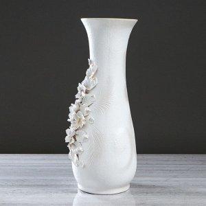 """Ваза напольная """"Осень"""" лепка. хризантема. 57 см. микс. керамика"""