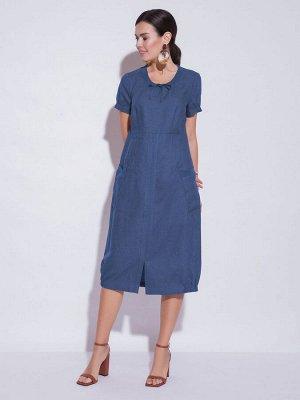 Платье женское лен р 50-52