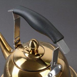 Чайник «Голд», 2 л, 23х19х20 см, с ситом