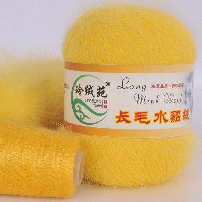 🔝 Пряжа. Спицы. Очень вкусные цены — Пух норки mink wool — Пряжа