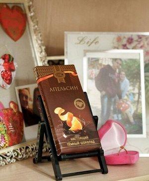 Шоколад темный с апельсином ПК 1/100