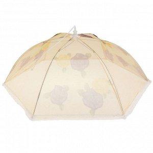 Сетка для продуктов защитная «Зонтик», 70?70 см, цвет МИКС