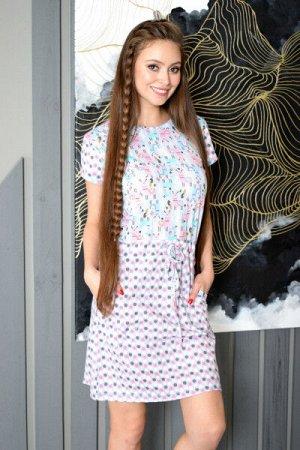 """Платье домашнее """"Ламы"""""""