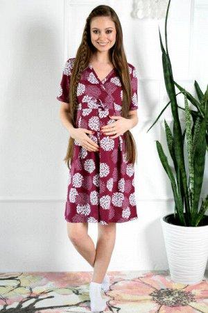 Домашнее платье для беременных и кормящих мам
