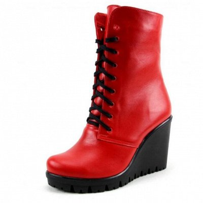 ~ED`ART - Стильная, комфортная обувь. Натуральная кожа. — Ботильоны - Зима (Шерсть, Мех) — Зимние