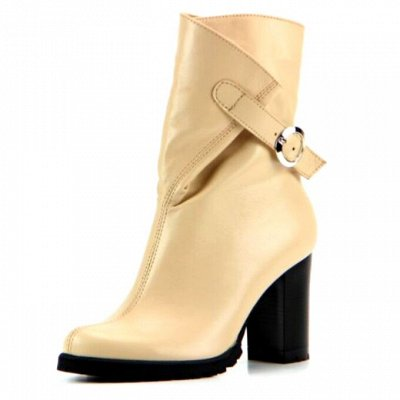 ~ED`ART - Стильная, комфортная обувь. Натуральная кожа. — Полусапоги демисезон — Сапоги