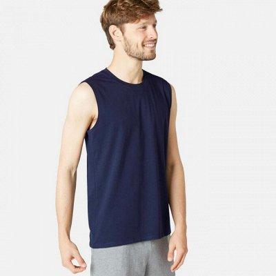 ✔ DECATHLON — Покоряйте новое в фитнесе с нами — Мужские футболки и майки от 320р! Комфортные, бесшовные