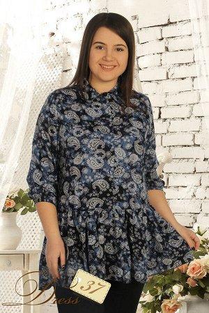 Блузка «Анна» огурцы