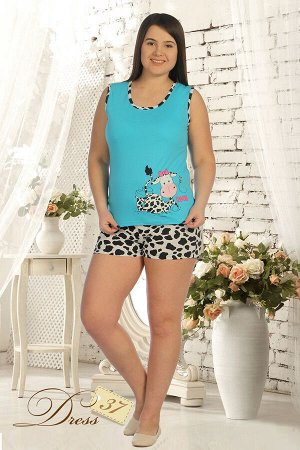 Пижама «LOVE» голубая