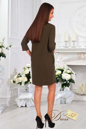 Платье «Миндаль» хаки